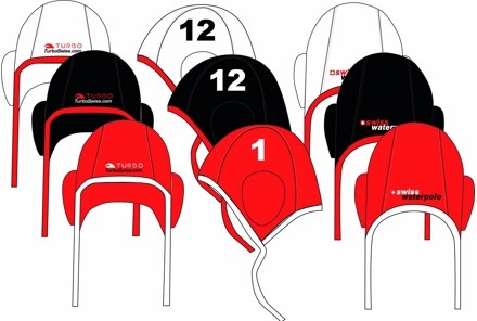 BONNETS WP PROFESSIONEL SET 26x - SWISS WATERPOLO