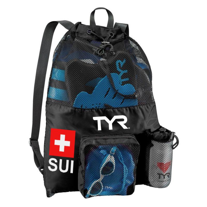 TYR Big Mesh Mummy Backpack Suisse