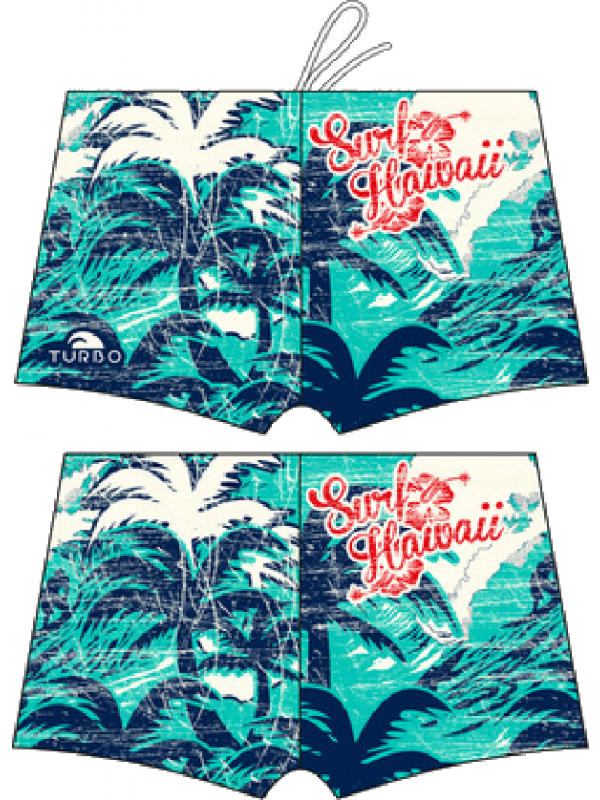 BOXER SWIM SURFER HAWAII VINTAGE