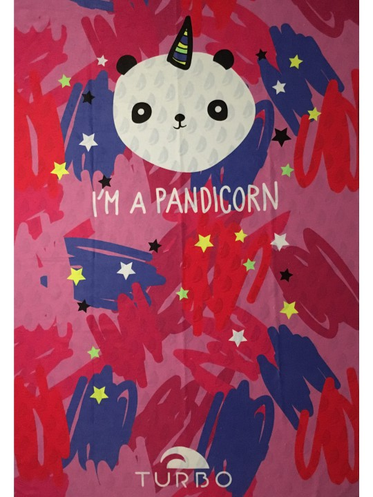 LINGE MICROFIBRE PANDICORN HAPPY