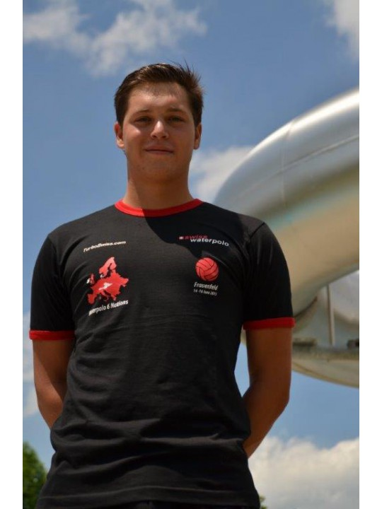 T-SHIRT 6 NATIONS 2013 (Black & Red)