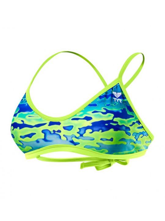 Haut de bikini TYR Crosscut Tieback Serenity