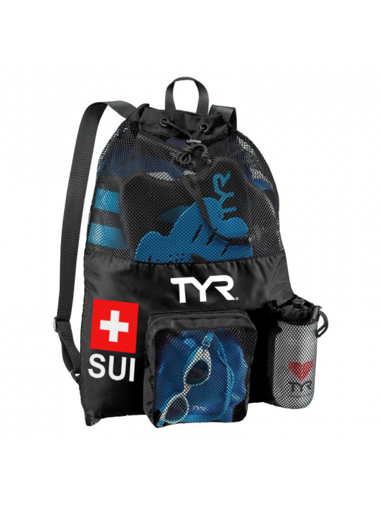 TYR Big Mesh Mummy Backpack Suisse